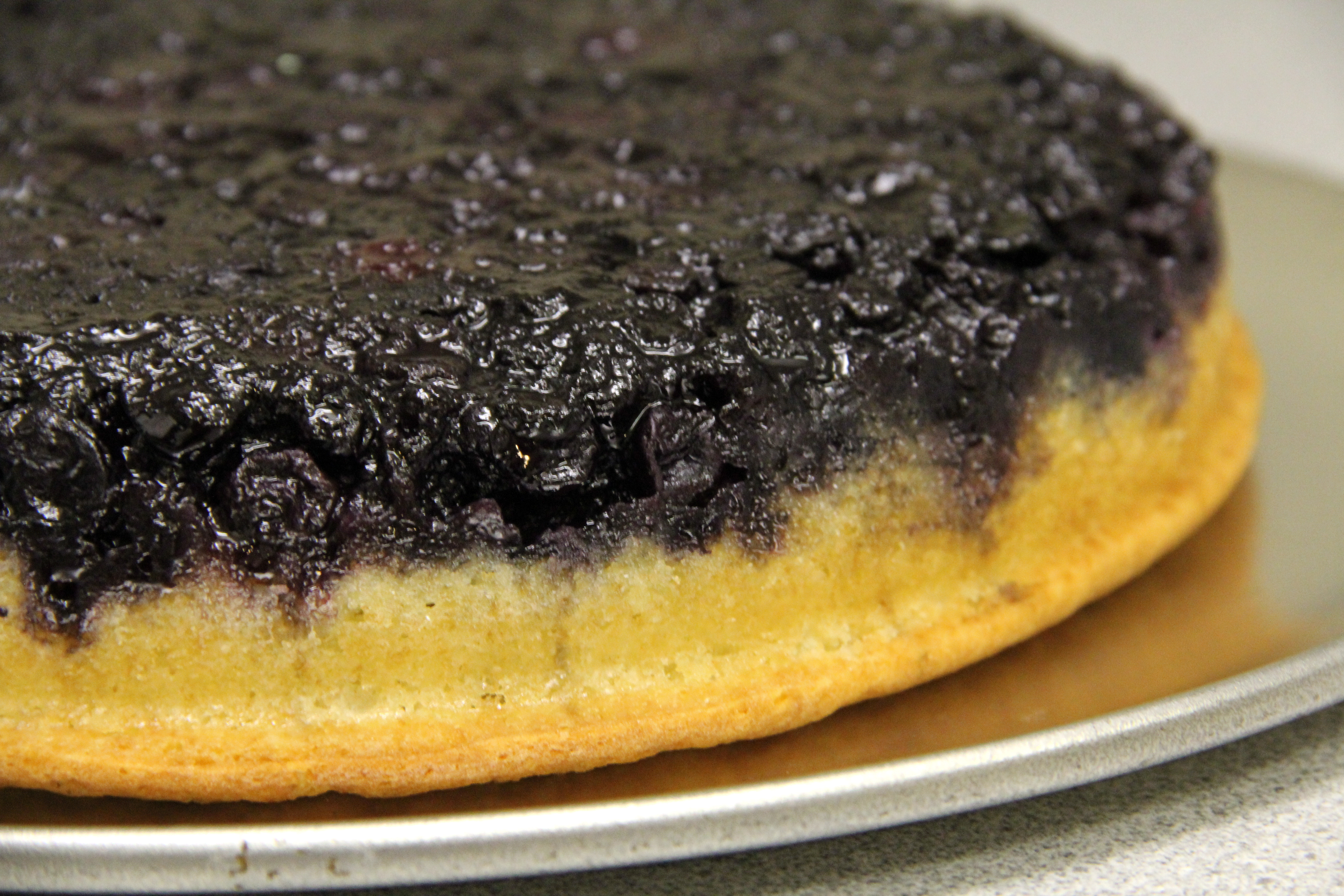 blueberry upside down cake blueberry cake s healthy baking 1978