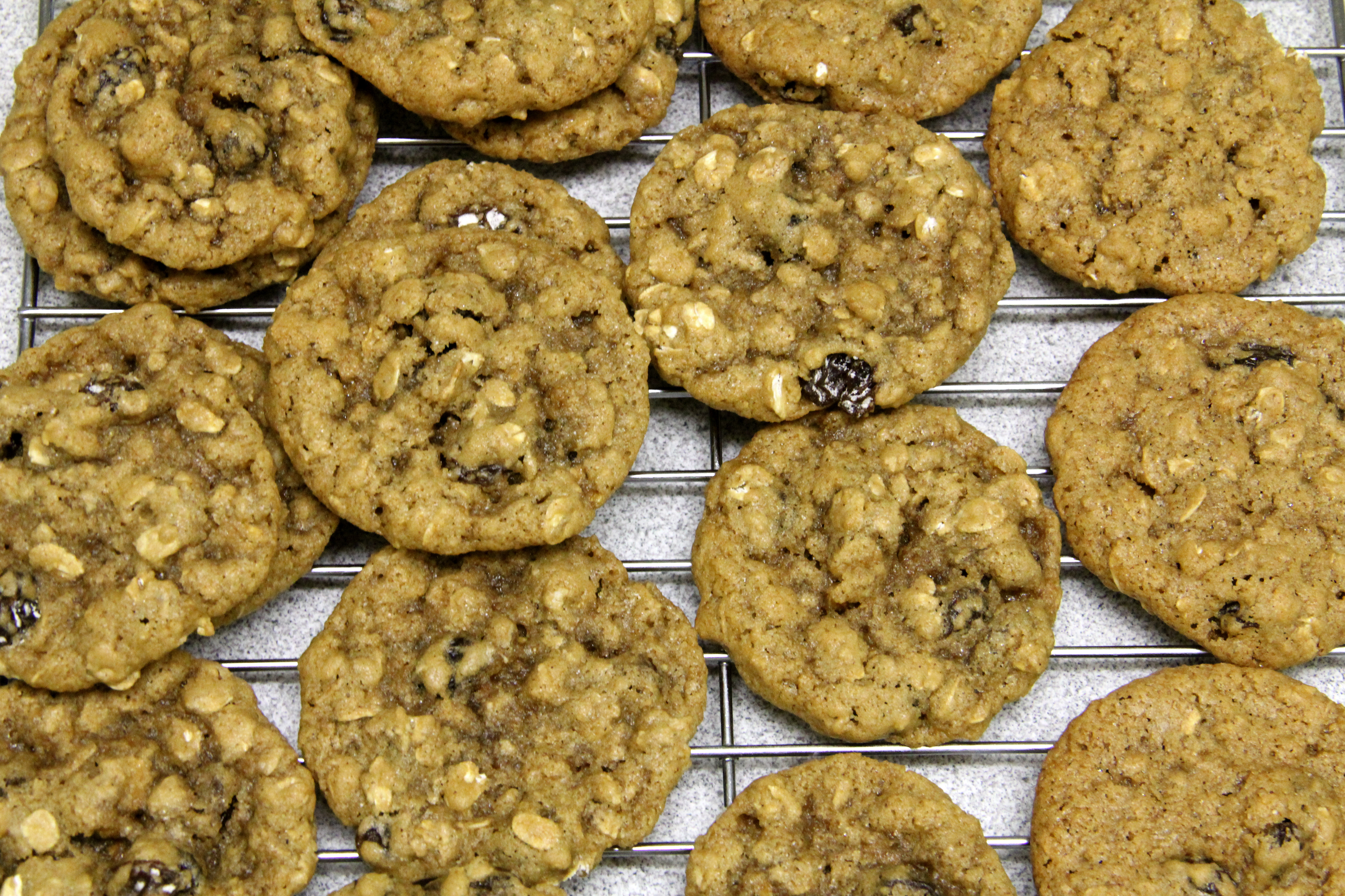 Chewy Oatmeal Raisin Cookies | Amy's Healthy Baking