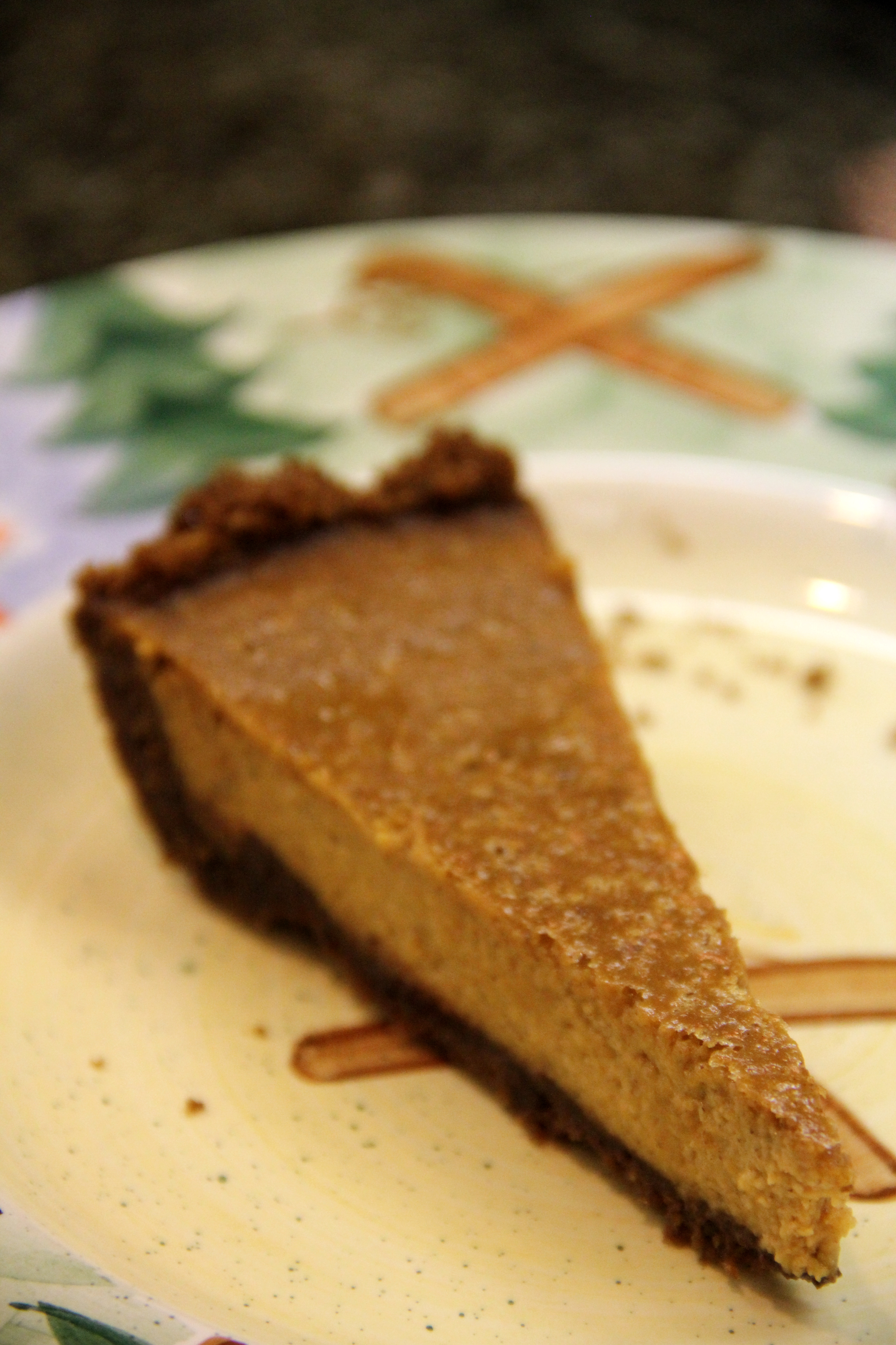 Gingersnap Pumpkin Layered Pie | Amy's Healthy Baking