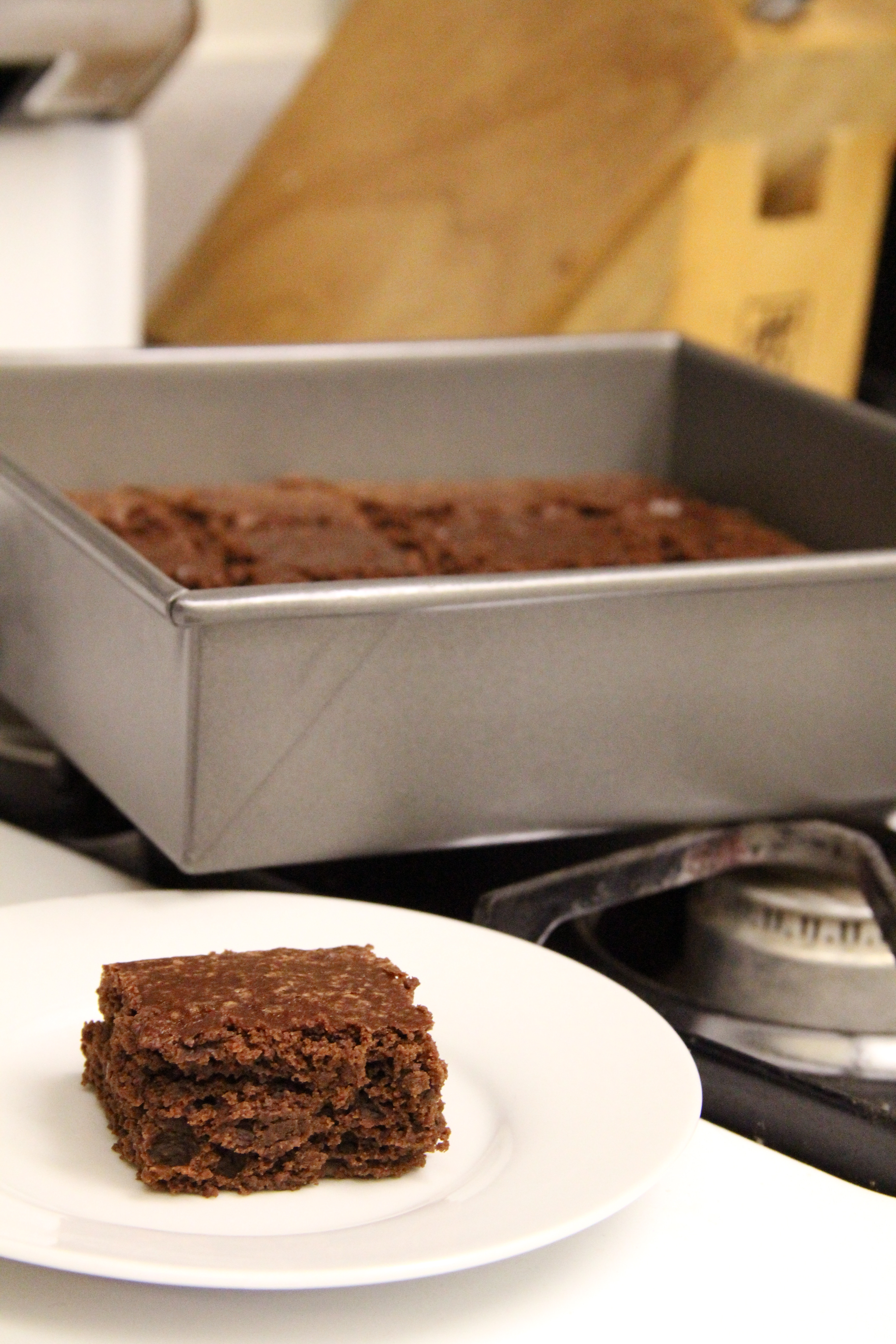 Basic Cakey Brownies