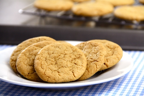 dairy-free gluten-free peanut butter cookies
