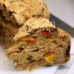 bell pepper bread