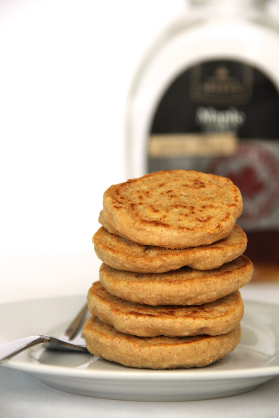 fluffy herbal tea pancakes