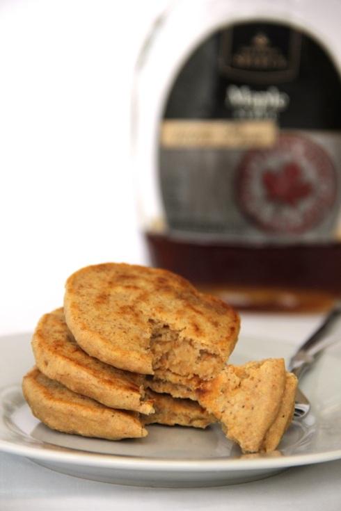 fluffy herbal tea pancakes