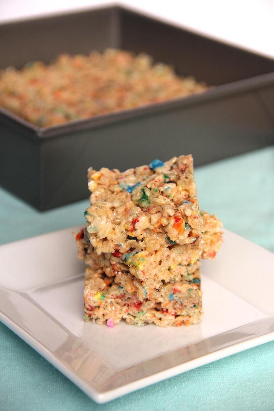 funfetti rice krispie treats