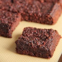 fudgy beet brownies