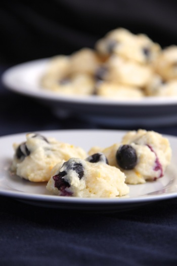 blueberry lemon yogurt cookies