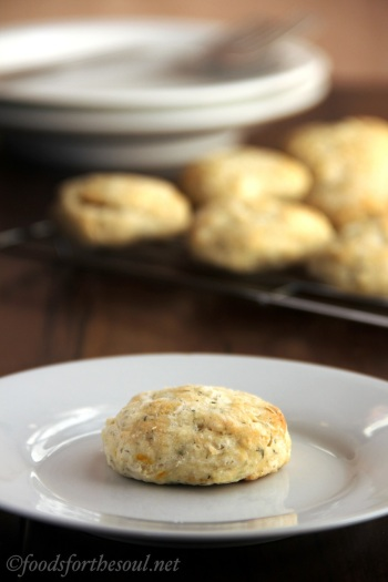 lemon dill biscuits