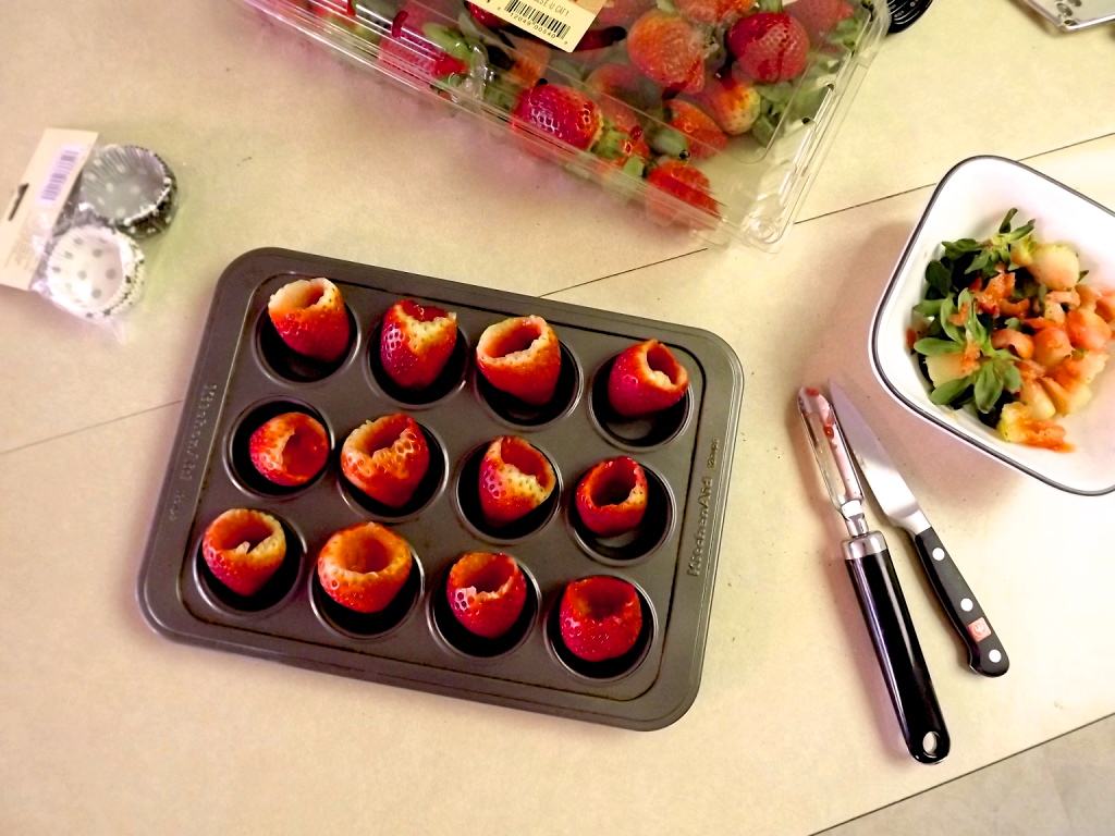 Truffle Stuffed Strawberries Amy S Healthy Baking